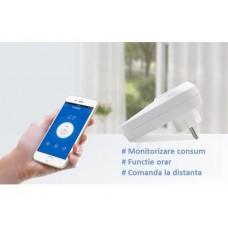 Priza Wifi cu temporizare, 2000W, Sonoff S20