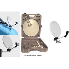 Set Antena Satelit - CAMPING 38 cm