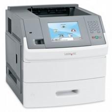Imprimanta laser monocrom Lexmark T656DNE, Duplex, Retea, 55ppm
