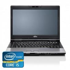 Fujitsu LIFEBOOK S752 Notebook, Intel Core i5-3320M 2.6Ghz, 4Gb DDR3, 320Gb, DVD-RW, Bluetooth, Wi-fi