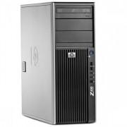 WorkStation HP Z400, Intel Xeon Quad Core W3520, 2.6Ghz, 6Gb DDR3 ECC, 320GB SATA, DVD-RW, Placa video nVidia Quadro FX1800 768 GDDR3