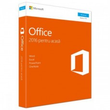 Licenta retail Microsoft Office 2016 Home and Student 32-bit/x64 32- bit/x64 Romanian, Medialess