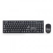 Wireless Kit Tastatura + Mouse GEMBIRD KBS-W-01, US layout, Negru