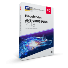 Licenta Bitdefender Antivirus Plus 2018, 1 AN, 3 PC-uri