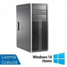 Calculator Hp 8200 Elite Tower, Intel Core i7-2600 3.40GHz, 4GB DDR3, 500GB SATA, DVD-ROM + Windows 10 Home