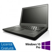 Laptop Refurbished LENOVO Thinkpad x240, Intel Core i5-4300U 1.90GHz, 8GB DDR3, 128GB SSD + Windows 10 Pro