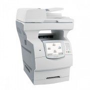 Multifunctionala Second Hand Lexmark X646, Imprimanta Laser, Copiator, Fax, Scanner, USB, Monocrom