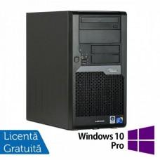 Calculator Refurbished Fujitsu Siemens Esprimo P5730, Intel Core 2 Duo E7500, 2.93GHz, 2GB DDR2, 160GB SATA, DVD-ROM + Windows 10 Pro