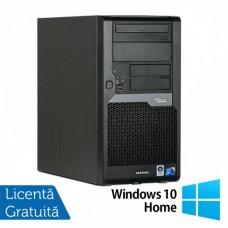 Calculator Refurbished Fujitsu Siemens Esprimo P5730, Intel Core 2 Duo E7500, 2.93GHz, 2GB DDR2, 160GB SATA, DVD-ROM + Windows 10 Home