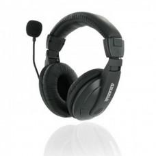 Casti Stereo 4World cu microfon, fir 3 metri