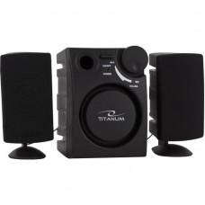 Boxe, Microsistem Audio 2.1,  Esperanza Titanum TP104 Alzando 2W Black