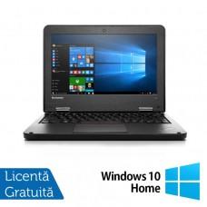 Laptop Refurbished LENOVO Yoga 11e, Intel Celeron N2930 Quad Core 1.80GHz, 8GB DDR3, 120GB SSD + Windows 10 Home