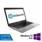 Laptop Refurbished HP EliteBook 840 G1, Intel Core i5-4210U 1.70GHz , 4GB DDR3, 500GB SATA, Webcam, 14 inch + Windows 10 Pro
