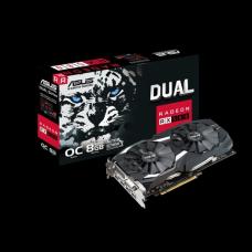 Placa video ASUS DUAL OC Radeon RX 580 GAMING, 8GB, DDR5, 2x HDMI, 2x Display Port, DVI-D, 256-bit