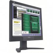 Monitor LCD Philips 190B7, 19 inch, 1280 x 1024, VGA, DVI, USB, Audio, Boxe integrate, Fara picior