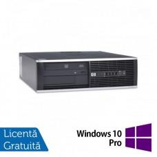 Calculator Refurbished HP Compaq 6000 Pro, SFF, Intel Pentium Dual Core E5800, 3.20 GHz, 3GB DDR3, 250GB SATA, DVD-ROM + Windows 10 Pro