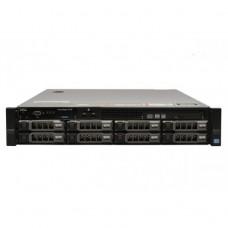 Server Refurbished Dell PowerEdge R720, 2x Intel Xeon Hexa Core E5-2620 V2, 2.10GHz - 2.60GHz, 384GB DDR3 ECC, 2 x SSD 480GB SATA + 6 x 4TB HDD SATA, Raid Perc H710 mini, Idrac 7 Enterprise, 2 surse HS