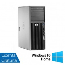 WorkStation Refurbished HP Z400, Intel Xeon Quad Core E5620, 2.40GHz, 4GB DDR3 ECC, 500GB SATA, nVIDIA Quadro FX1800 768MB GDDR3 192bit, DVD-RW + Windows 10 Home