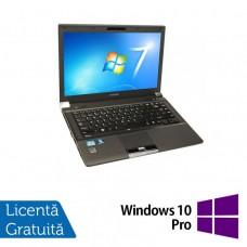 Laptop Refurbished Toshiba Tecra R840-10Z, Intel Core i5-2520M 2.50GHz, 8GB DDR3, 120GB SSD, DVD-RW, 14 Inch + Windows 10 Pro