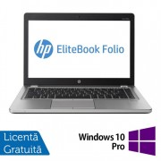 Laptop Refurbished HP EliteBook Folio 9470M, Intel Core i5-3337U 1.80GHz, 8GB DDR3, 120GB SSD, Webcam, 14 Inch + Windows 10 Pro