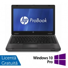 Laptop HP ProBook 6360B, Intel Core i5-2410M 2.30GHz, 4GB DDR3, 320GB SATA, DVD-RW, 13 Inch + Windows 10 Pro