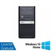 Calculator FUJITSU SIEMENS P5625, AMD Athlon Dual Core 64 x2 5600B 2.90 GHz, 4GB DDR2, 160GB SATA, DVD-RW + Windows 10 Home