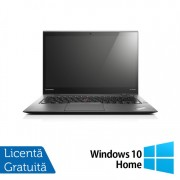 Laptop Lenovo ThinkPad X1 CARBON 3rd, Intel Core i7-5600U 2.60GHz, 8GB DDR3L, 256GB SSD M.2, 14 Inch Multitouch Screen 2560x1440 WQHD IPS + Windows 10 Home