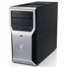 Workstation Dell Precision T1600, Intel Xeon Quad Core E3-1225 3.10GHz - 3.40GHz, 8GB DDR3, 500GB HDD, Placa video AMD Radeon HD7350 1GB, DVD-RW