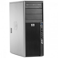 WorkStation HP Z400, Intel Xeon Quad Core W3520 2.66GHz-2.93GHz, 8GB DDR3, 500GB SATA, Placa Video nVidia NVS300/512MB-64 biti, DVD-RW