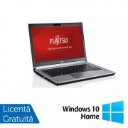 Laptop FUJITSU SIEMENS Lifebook E734, Intel Core i5-4200M 2.50GHz, 8GB DDR3, 120GB SSD, 13.3 Inch + Windows 10 Home