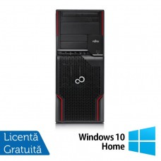 Workstation FUJITSU CELSIUS W510, Intel Core i5-2400S 2.5GHz, 8GB DDR3, 500GB SATA, DVD-ROM + Windows 10 Home