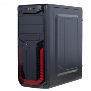 Sistem PC Gaming, Intel Core i5-4570S 2.90GHz, 8GB DDR3, 2TB SATA, Placa video RX 470 8GB GDDR5, Sursa Corsair 750W, DVD-RW, CADOU Tastatura + Mouse