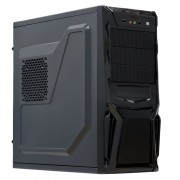 Sistem PC Gaming, Intel Core i3-3220 3.30GHz, 8GB DDR3, 3TB SATA, Placa video RX 470 8GB GDDR5, DVD-RW, CADOU Tastatura + Mouse