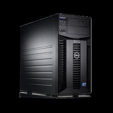 Server Dell PowerEdge T310 Tower, Intel Quad Core Xeon X3430 2.4 GHz-2.8GHz, 8GB DDR3 ECC Reg, 2x 1TB SATA, Raid Controller H200, idrac 6 Enterprise, 2x LAN Gigabit, 2x Surse HOT SWAP