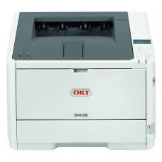 Imprimanta Laser Monocrom OKI B432, 42 ppm, USB, Paralel