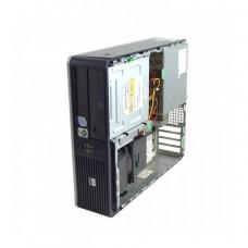 Calculator HP DC7800, Intel Pentium Dual Core E5200 2.50GHz, 2GB DDR2, 80GB SATA, Fara capac