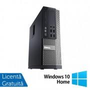 Calculator DELL OptiPlex 7010 SFF, Intel Core i5-3470 3.20GHz, 4GB DDR3, 250GB SATA, DVD-RW + Windows 10 Home