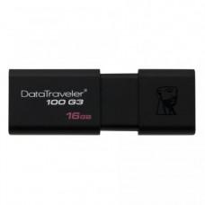 Memorie USB Kingston DataTraveler 100 G3, 16GB, USB 3.0
