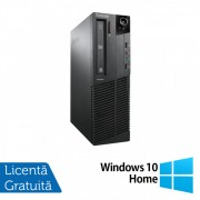 Calculator Lenovo ThinkCentre M92p SFF, Intel Core i3-3220 3.30GHz, 8GB DDR3, 120GB SSD, DVD-RW + Windows 10 Home