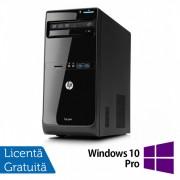 Calculator HP Pro 3500 Tower, Intel Pentium G2030 3.00GHz, 4GB DDR3, 500GB SATA, DVD-RW + Windows 10 Pro
