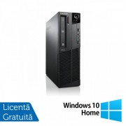 Calculator Lenovo ThinkCentre M92p SFF, Intel Core i5-3550 3.30GHz, 4GB DDR3, 500GB SATA, DVD-RW + Windows 10 Home