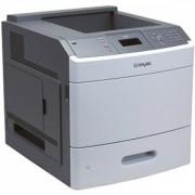 Imprimanta Laser Monocrom Lexmark T650N, A4, 45ppm, 1200 x 1200, Retea, USB, Cuptor si Cartus Remanufacturat