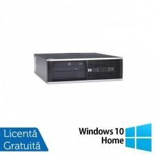 Calculator HP 4300 Pro SFF, Intel Pentium G2020 2.90GHz, 4GB DDR3, 500GB SATA, DVD-RW + Windows 10 Home
