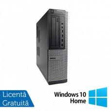 Calculator DELL OptiPlex 7010 Desktop, Intel Celeron G540 2.50GHz, 4GB DDR3, 250GB SATA, DVD-RW + Windows 10 Home