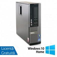 Calculator Dell OptiPlex 790 SFF, Intel Pentium G620 2.60GHz, 4GB DDR3, 250GB SATA + Windows 10 Home