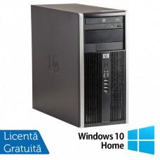 Calculator HP 6200 Tower, Intel Pentium G645 2.90GHz, 4GB DDR3, 250GB SATA, DVD-ROM + Windows 10 Home (Top Sale!)