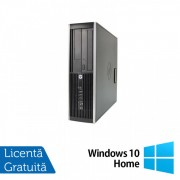 Calculator HP Compaq Elite 8300 SFF, Intel Core i5-3570 3.40GHz, 8GB DDR3, 120GB SSD, DVD-RW + Windows 10 Home