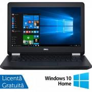 Laptop DELL Latitude E5270, Intel Core i5-6300U 2.40GHz, 8GB DDR4, 240GB SSD, 12.5 Inch, Webcam + Windows 10 Home