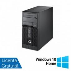Calculator Fujitsu Siemens P400 Tower, Intel Pentium G645 2.90GHz, 4GB DDR3, 500GB SATA, DVD-RW + Windows 10 Home