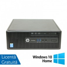 Calculator HP 400 G2.5 SFF, Intel Core i3-4170 3.70GHz, 4GB DDR3, 250GB SATA, DVD-RW + Windows 10 Home